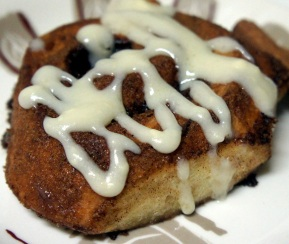 Cream Cheese topping Cinnamon Buns