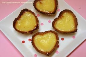 Heart Egg Tarts Dan Ta