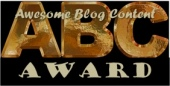 Awesome Blogger Content Award