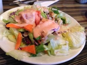 Free Salad.