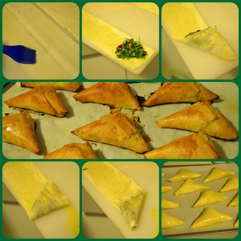 Spanakopita Step by Step