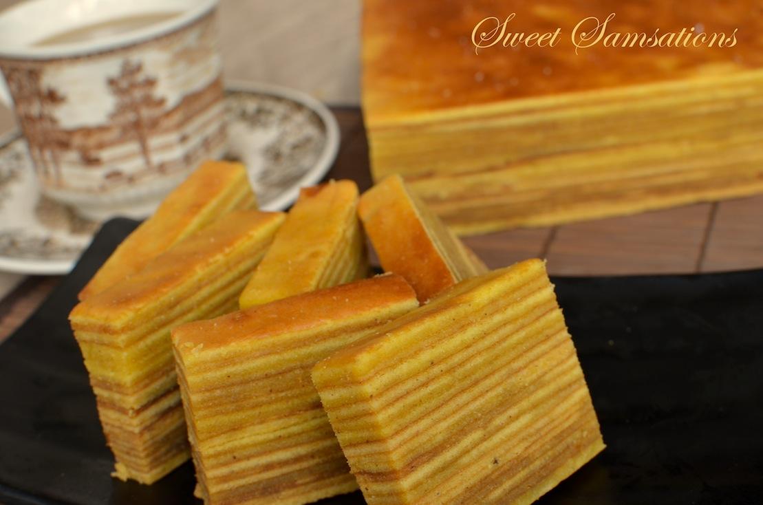 Kue Lapis Cake Recipe
