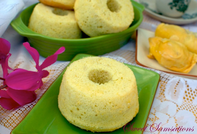 Durian Cake Delicious Easy