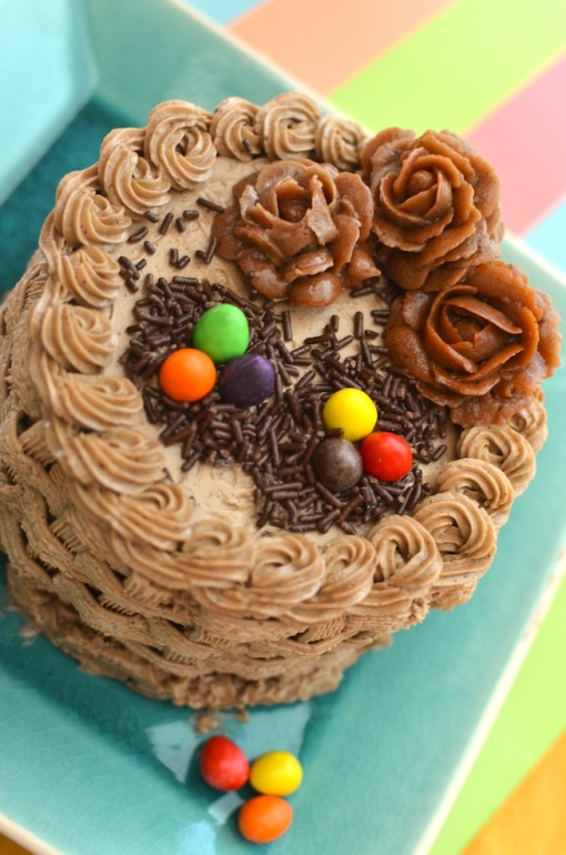 Easter Nest / basket Cake
