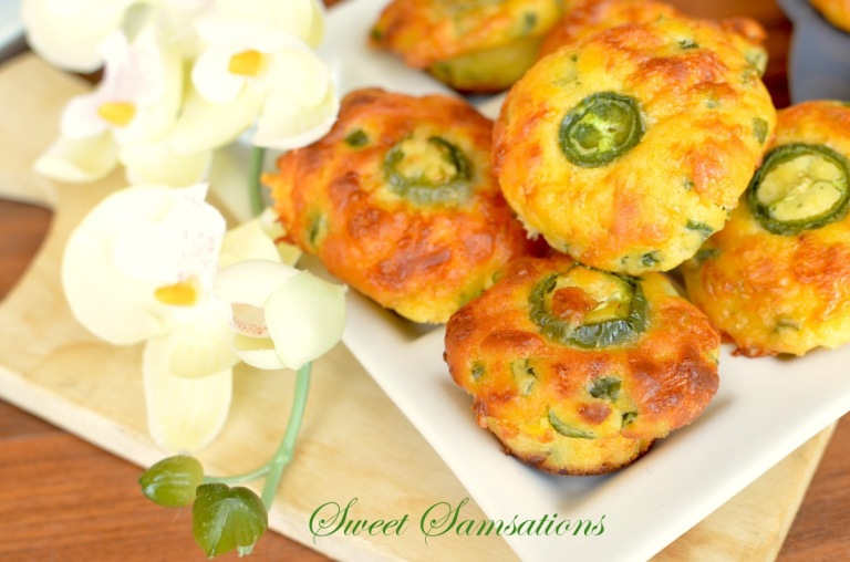 easy Muffins Cheddar Jalapeno