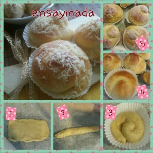 How to shape ensaymada