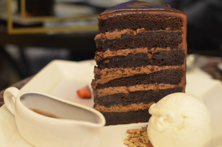 Tower Cake from Au Chocolat