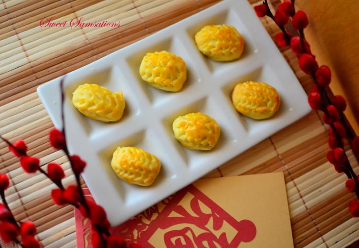 Creative Pineapple Tarts Design