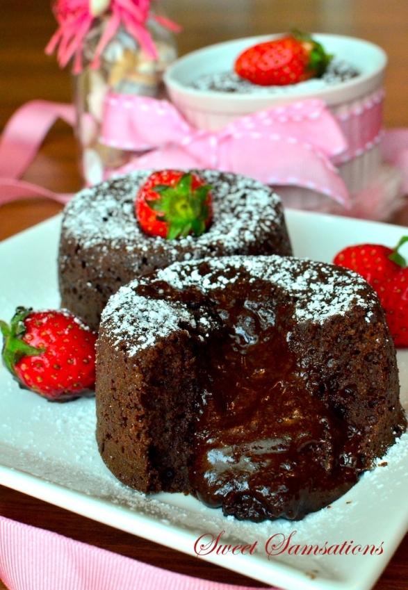 Best Dark Chocolate Lava Cake