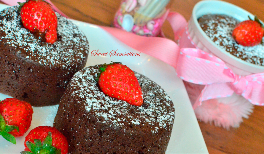 Chocolate Lava Cake Recipe Easy