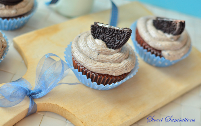 Oreo Cupcakes Recipe Cream Cheese Frosting