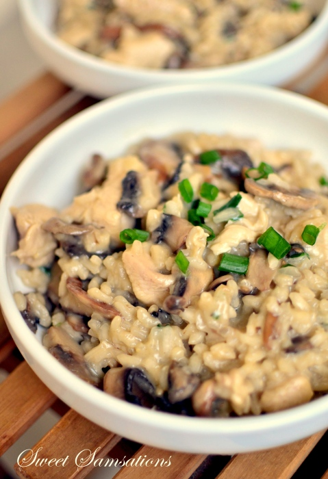 mushroom risotto allrecipe