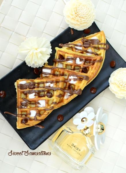 S'mores Waffles Recipe