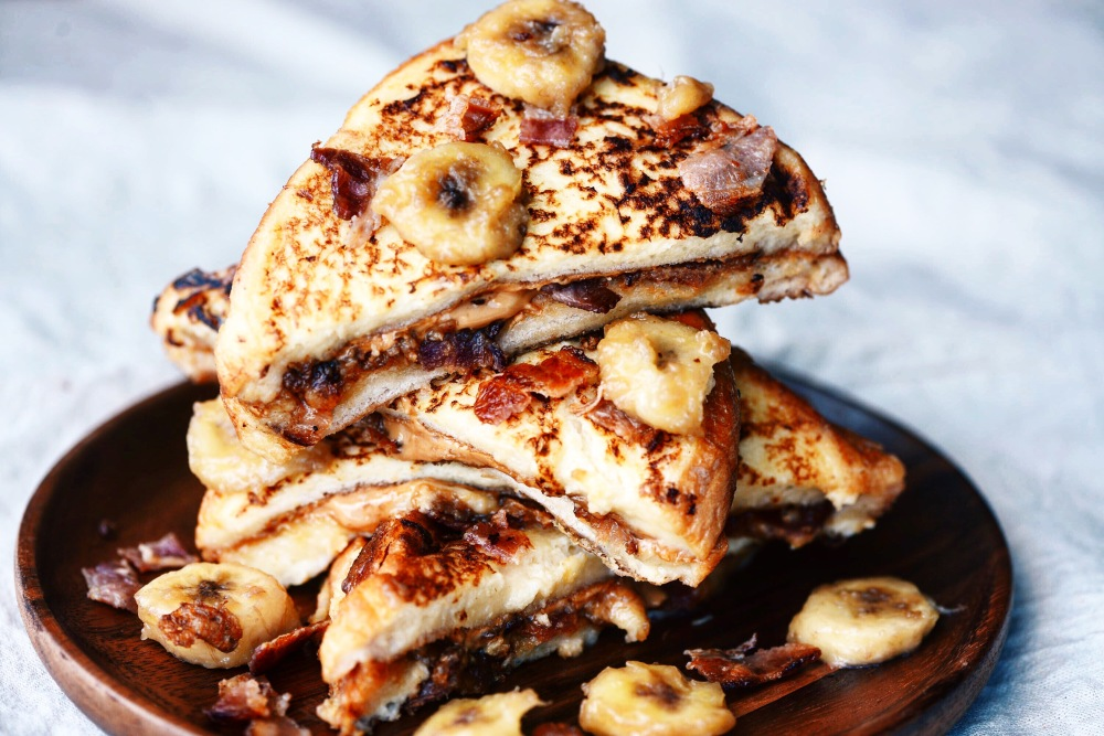 Peanut Butter and Bacon French Toast