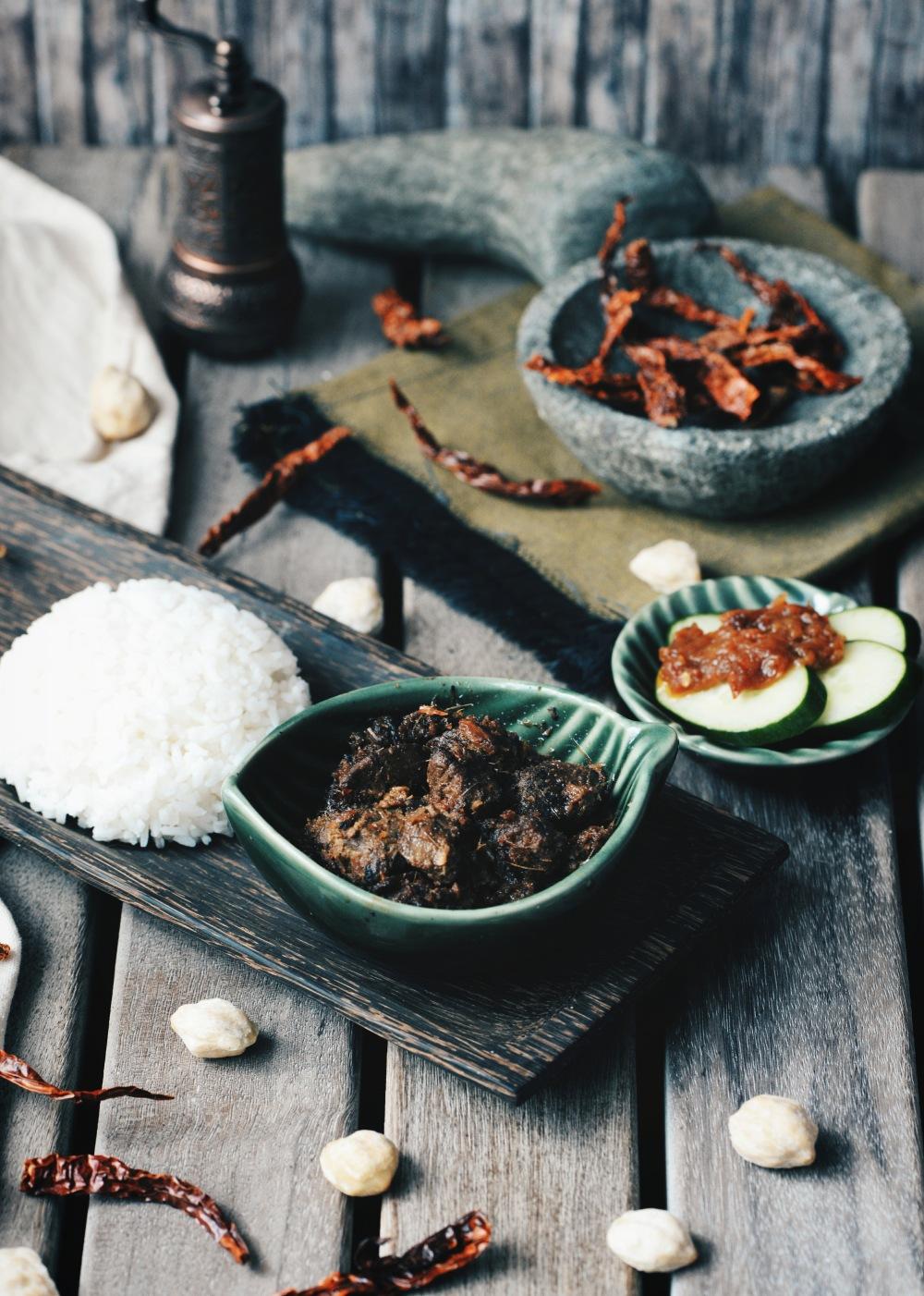 rendang kambing resep
